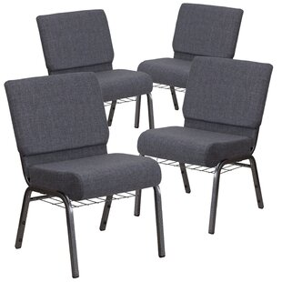 Find for MacArthur Modern Church Chair with Fabric Seat (Set of 4) by Ebern Designs Reviews (2019) & Buyer's Guide
