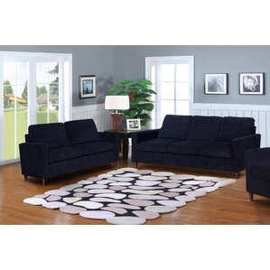 living room sets modern. Anglin Solid Raisin Fabric Modern 2 Piece Living Room Set  Contemporary Sets You ll Love Wayfair