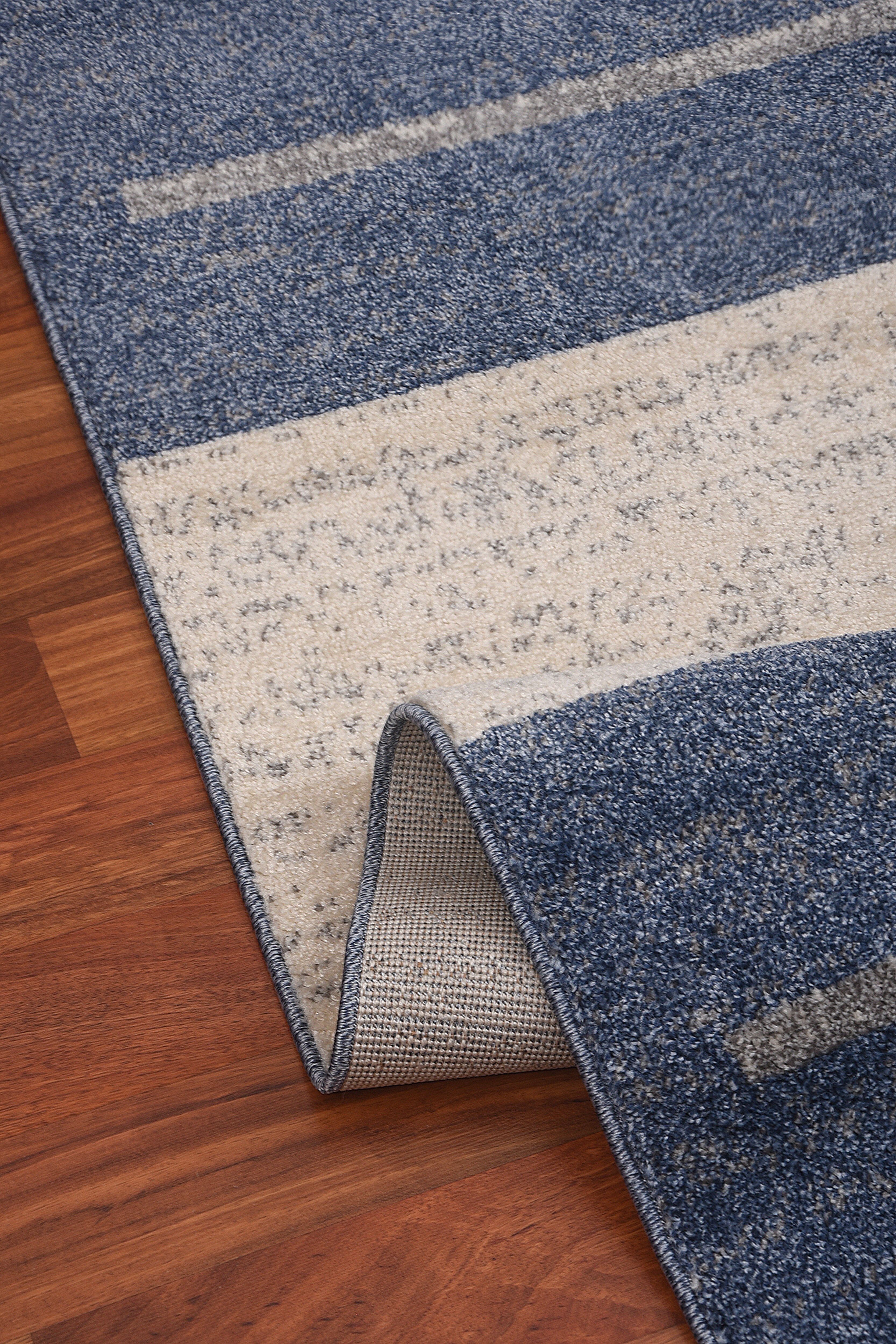 Mirac Geometric Blue Beige Area Rug Wayfair
