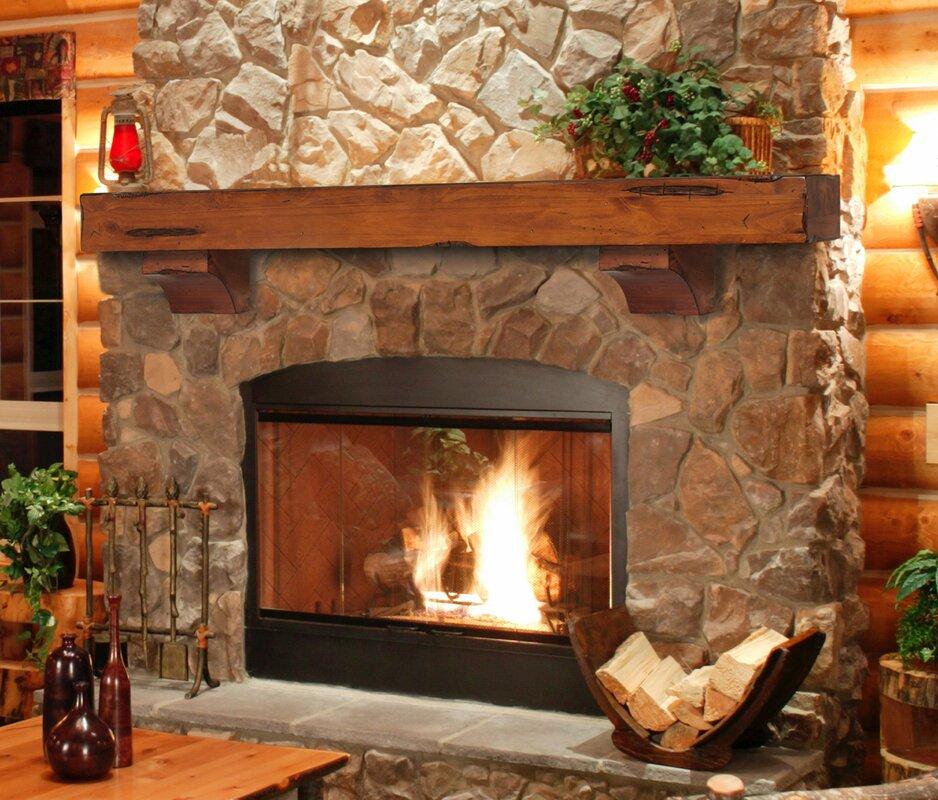 Pearl Mantels Shenandoah Fireplace Mantel Shelf & Reviews | Wayfair