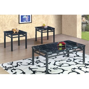 Compare prices 3 Piece Coffee Table Set ByBest Quality Furniture
