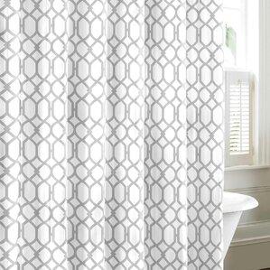 Geometric Shower Curtains Youll Love Wayfair