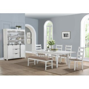 Spurgeon 6 Piece Extendable Dining Set by August Grove
