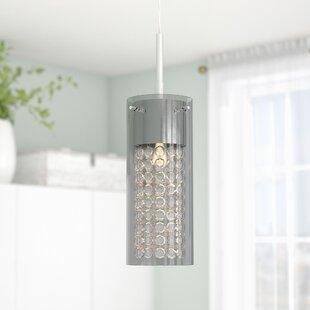 Bainbridge 1-Light Cylinder Pendant by Zipcode Design