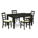 Sorrentino Solid Wood Dining Set by Charlton Home®