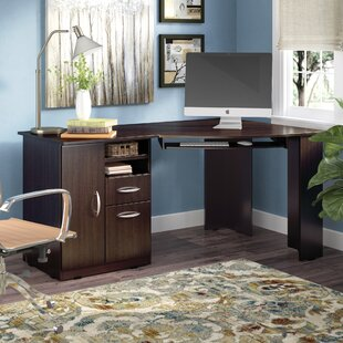 Ponca Solid Wood Corner Executive Desk