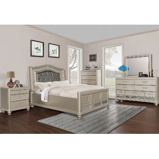 Panel 5 Piece Bedroom Set