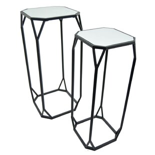 Farthing 2 Piece Nesting Tables by Latitude Run