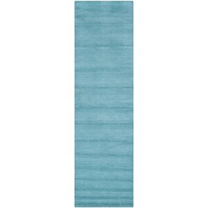 Trost Turquoise Area Rug