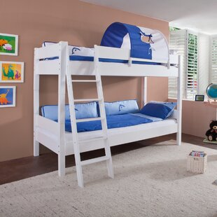 Review Fairhope European Single Bunk Bed With Tunnel