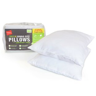 Comfort Soft® Soft Down Alternative Jumbo Pillow (Set of 2)