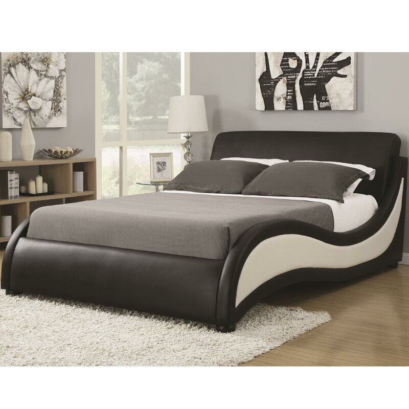 bed furniture reviews platform wade logan pdx alma upholstered wayfair
