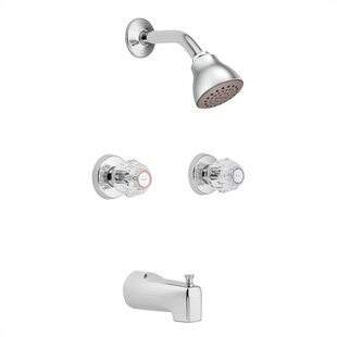 Moen Chateau Dual Control Tub and Shower Faucet Trim with Knob Handle