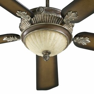 52 Galloway 5-Blade Ceiling Fan with Remote By Quorum Ceiling Lights