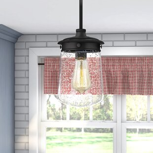 Bostwick 1-Light Cylinder Pendant by Laurel Foundry Modern Farmhouse