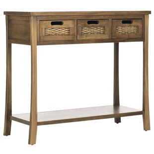 Silliman 3 Drawer Console Table By Bay Isle Home