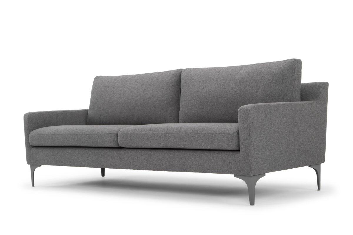 Drew's Grey Sofa