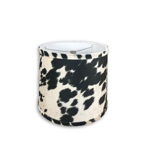 14 Faux Leather Drum Lamp Shade