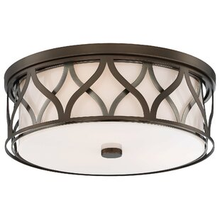 Ivy Bronx Melgoza 3-Light Flush Mount