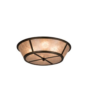 Yearby 4-Light Flush Mount by Loon Peak