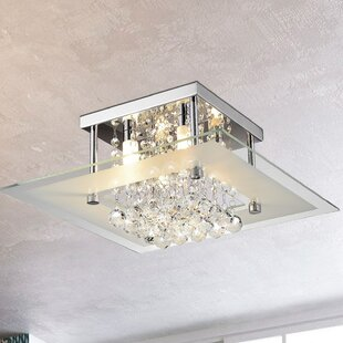 Ebern Designs Paxson 4-Light Semi Flush Mount