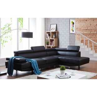 Rangel Elegance Sectional by Orren Ellis