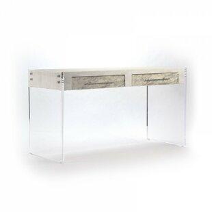 Everly Quinn Laskowski Acrylic Writing Desk