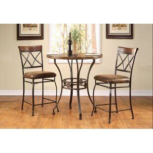 Braaten 3 Piece Dining Set by Fleur De Lis Living