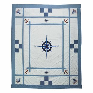Patch Magic Star of the Sea Cotton Twin Quilt