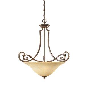 Fleur De Lis Living Goolsby 3-Light Bowl Pendant