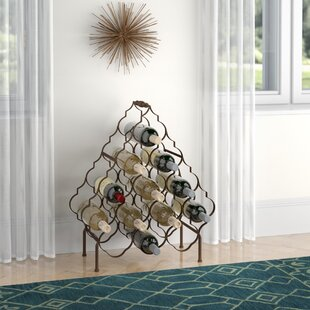 Prater 13 Bottle Floor Wine Rack by Wroug..