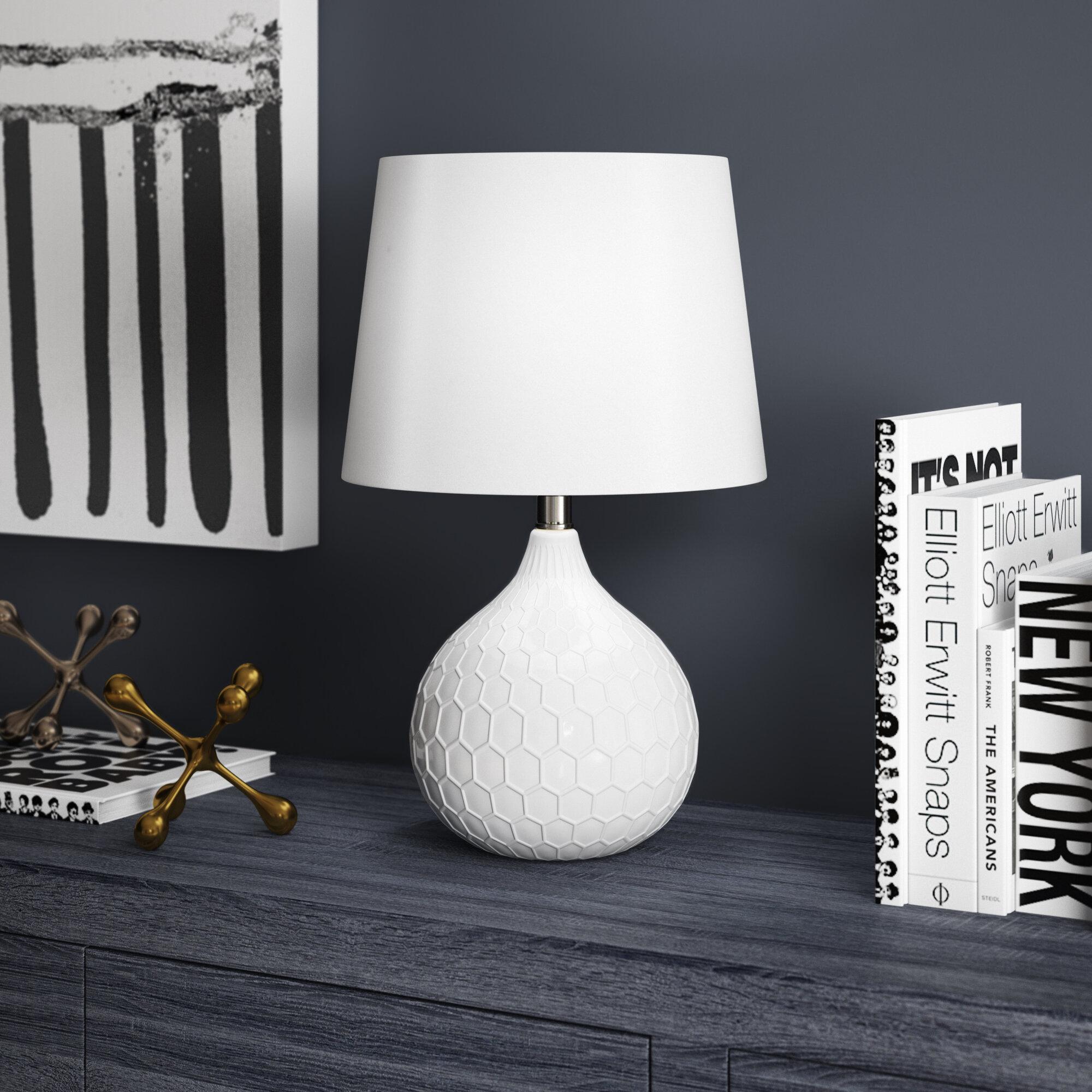 Ivy bronx dorchester 18 table lamp reviews wayfair