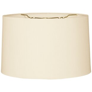 High-End 12 Burlap Drum Lamp Shade By Alcott Hill