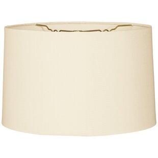 Burlap drum lamp shade wayfair timeless 10 burlap drum lamp shade aloadofball Choice Image