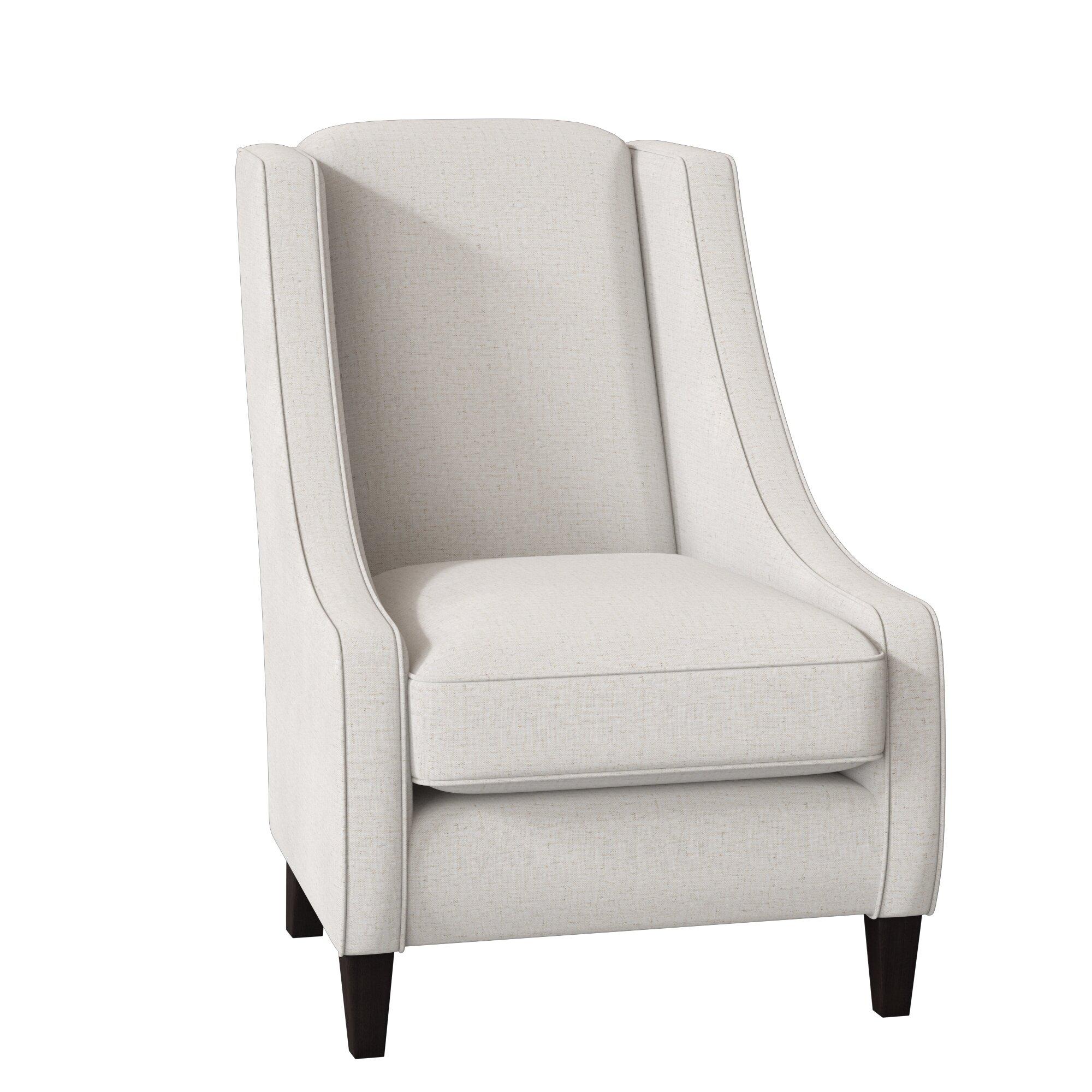 Gracie Oaks Jadon Wingback Chair Reviews Wayfair