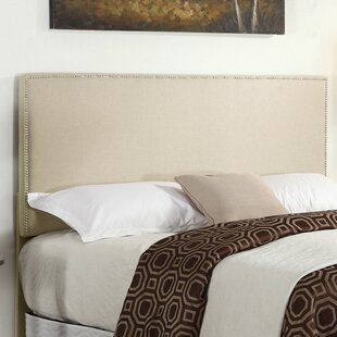 Daisetta Upholstered Panel Headboard by Highland Dunes