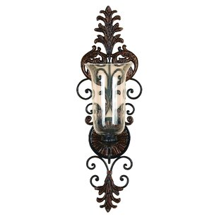 George Metal Glass Sconce
