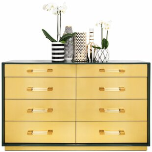 Mauritius 8 Drawer Double Dresser by ModShop Purchase