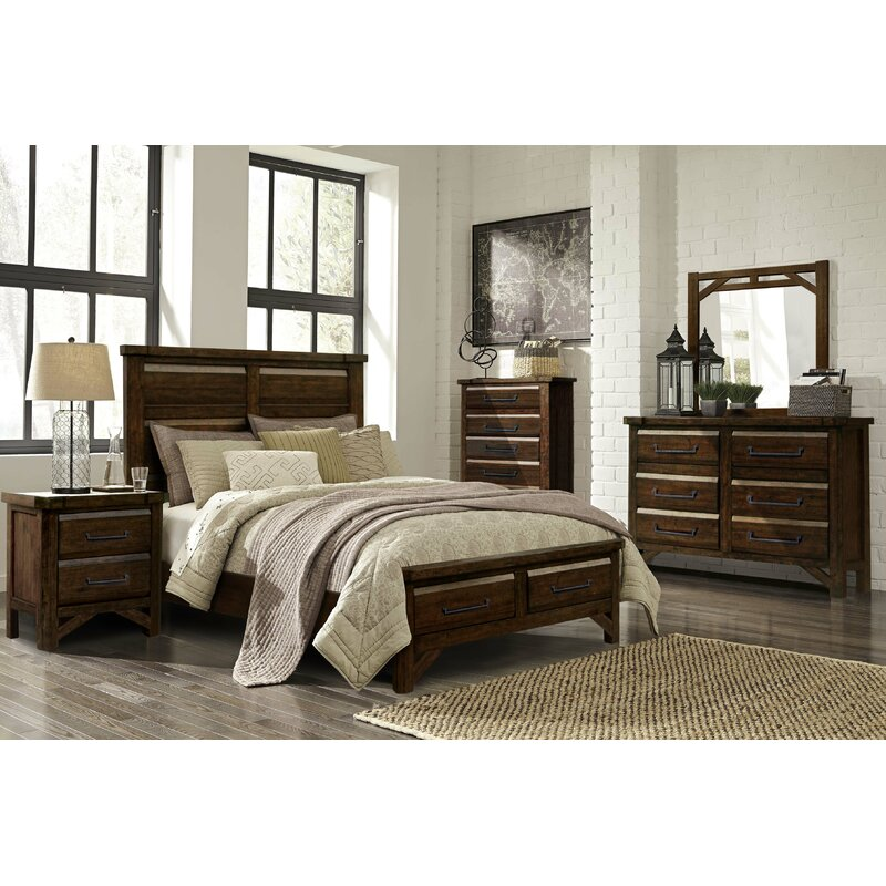Union Rustic Bricelyn 6 Drawer Double Dresser With Mirror Wayfair
