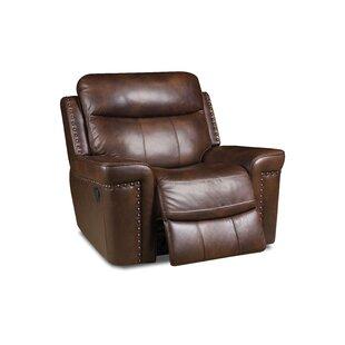Red Barrel Studio Derrek Reclining 3 Piece Leather Living Room Set