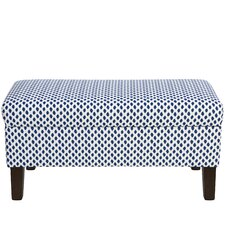 Adelyn Cotton Upholstered Storage Bedroom Bench by Ivy Bronx
