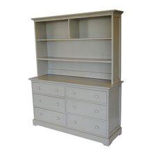 Chesapeake 6 Drawer Double Dresser by Centennial