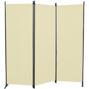 165cm x 165cm Swingtex 3 Panel Room Divider