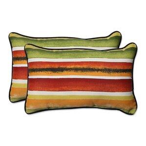 dina noir lumbar pillow set of 2