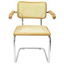 Cesca Solid Wood Dining Chair by Breuer Chair Company