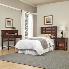 Rockvale Slat 4 Piece Bedroom Set by Loon Peak