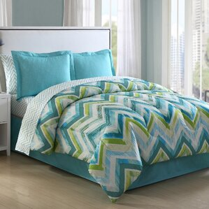 chevron bedding sets you'll love | wayfair