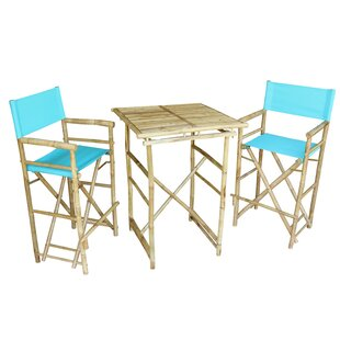 Aurelio 3 Piece Pub Table Set Bay Isle Home
