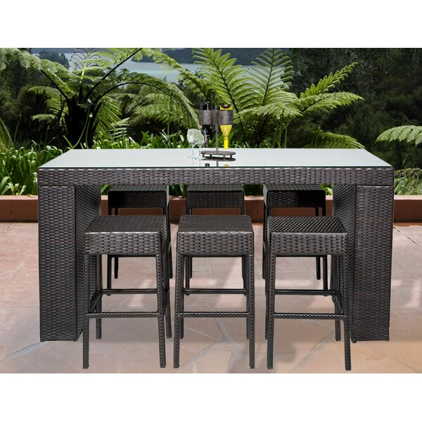 tk classics napa 7 piece bar set reviews wayfair rh wayfair com napa living patio furniture napa valley resources patio furniture