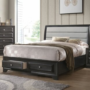 Ebern Designs Damarion Upholstered Storage Sleigh Bed